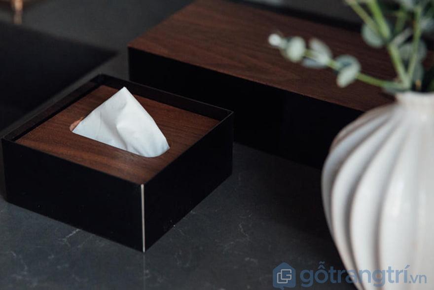 Hộp đựng giấy ăn nhà hàng