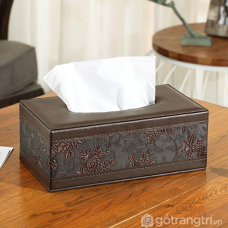 hộp đựng giấy ăn tân cổ điển