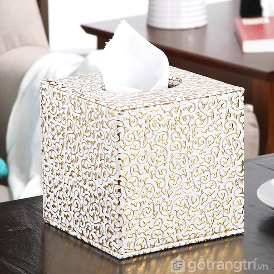 hộp đựng giấy ăn vuông