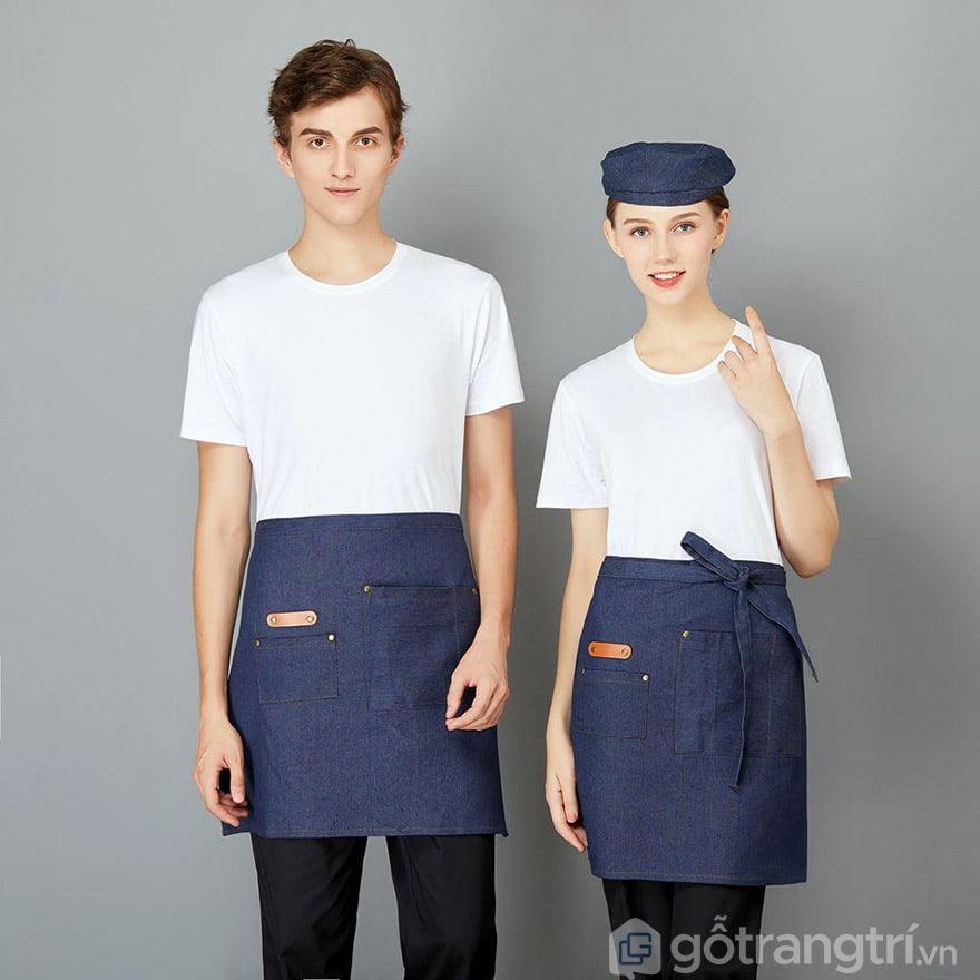 tạp dề 2 túi