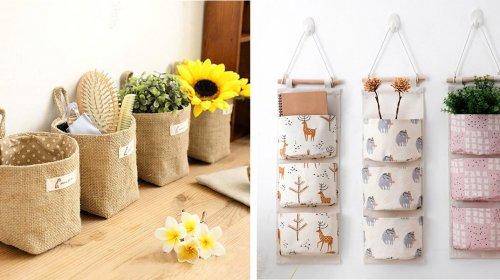 Gợi ý cách chọn mua túi vải treo tường đa năng, tiện lợi