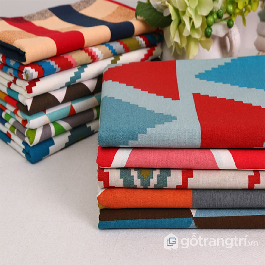 khăn trải bàn cavas