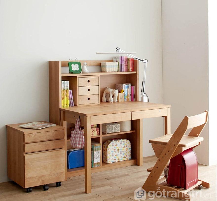 Bàn học trẻ em bằng gỗ