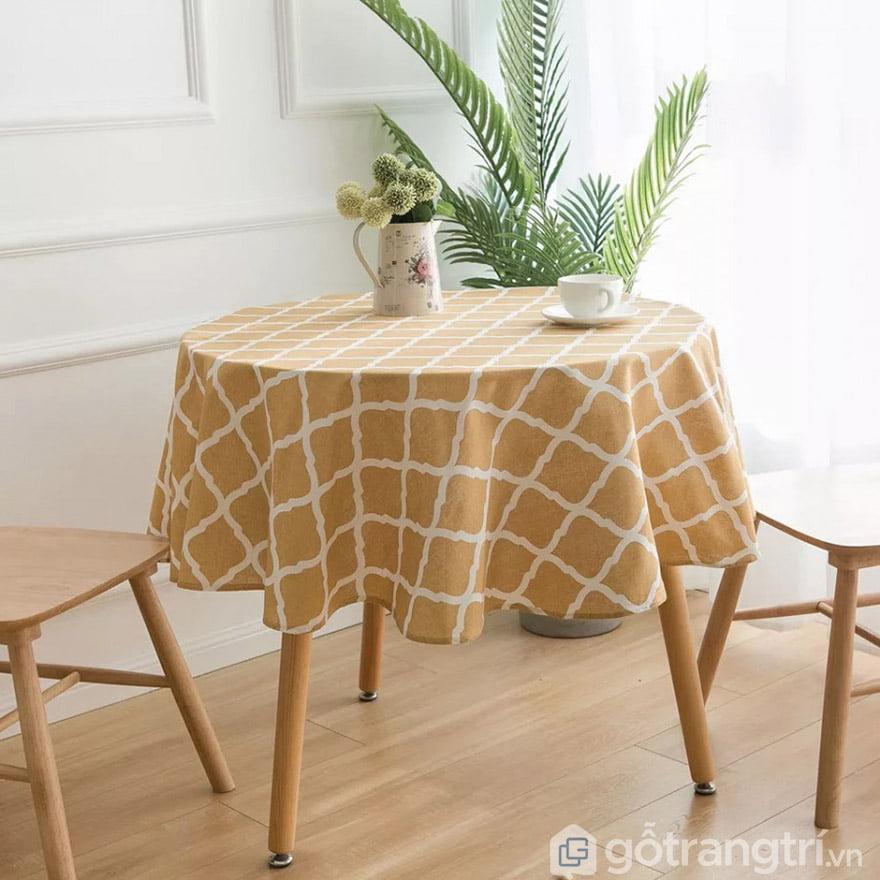 khăn trải bàn canvas