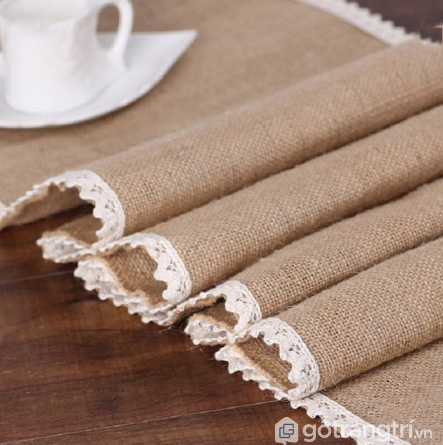 khăn trải bàn canvas đẹp