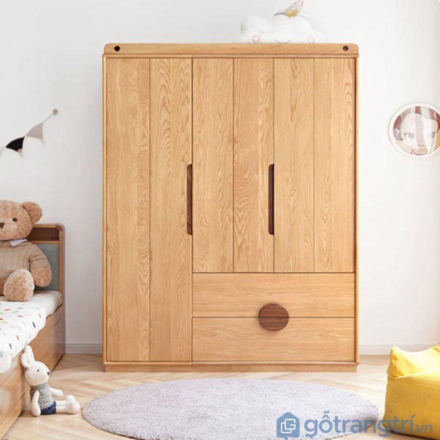 Tủ gỗ đựng đồ cho bé