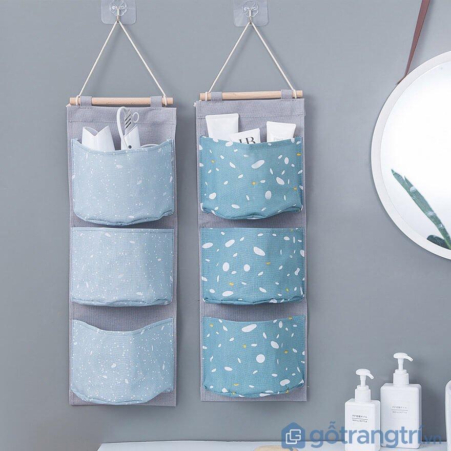 Túi vải treo tường handmade