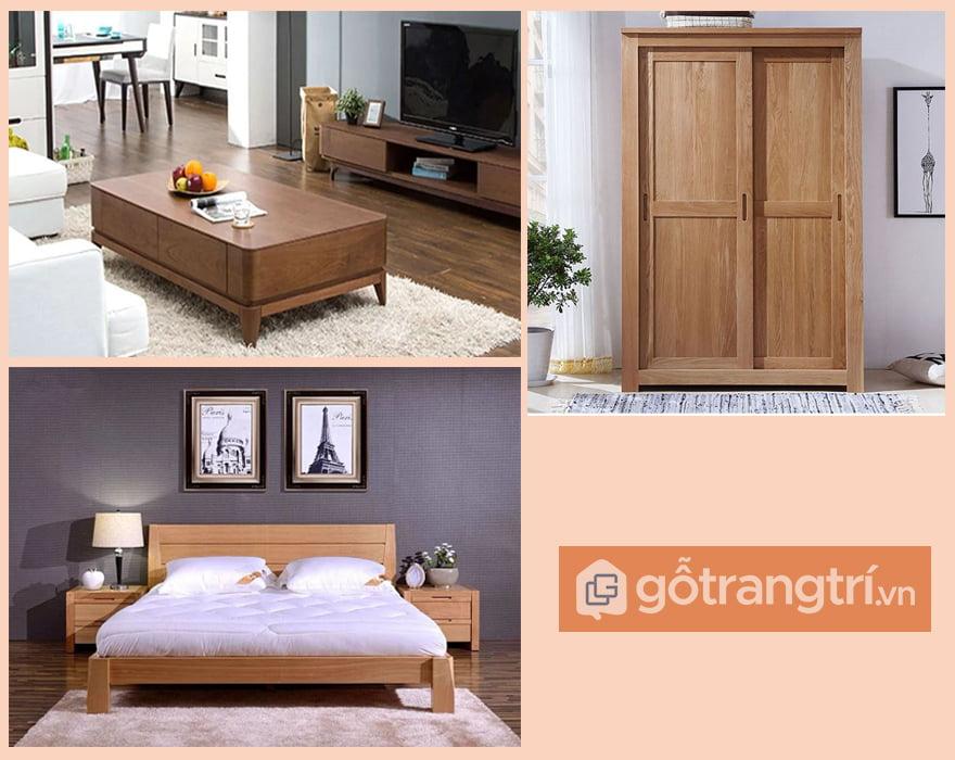 chất liệu gỗ tự nhiên
