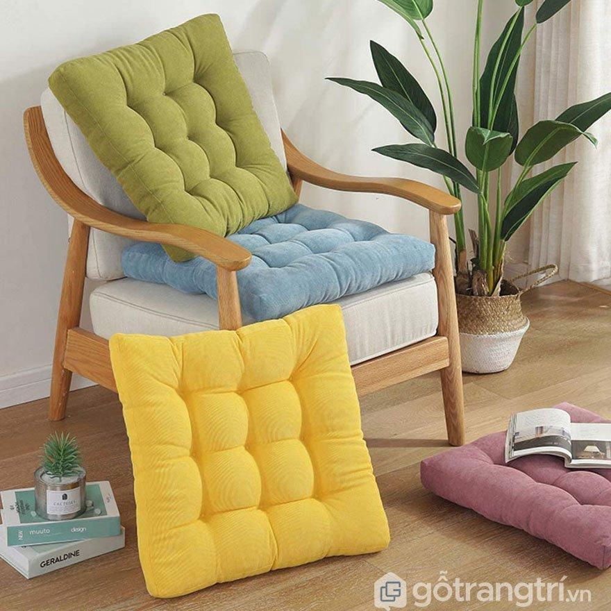 Địa chỉ bán nệm lót ghế gỗ