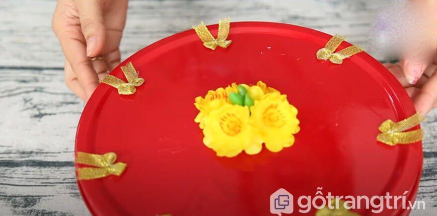 Cách làm khay đựng bánh kẹo handmade