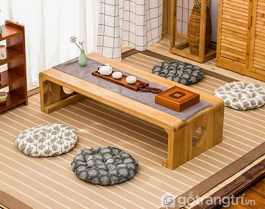 Đệm ngồi bệt kiểu Nhật