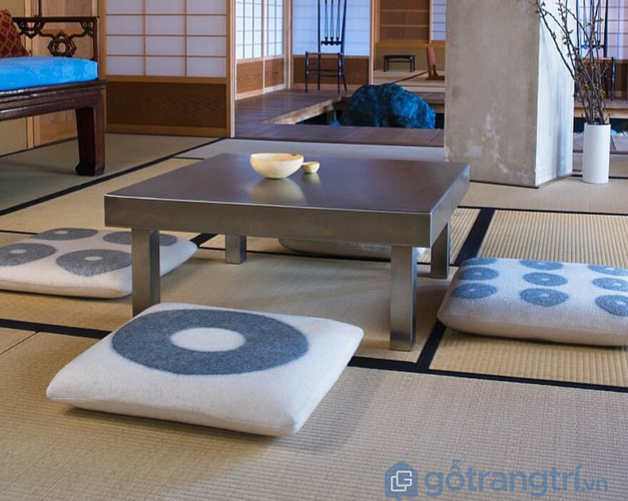 Nệm ngồi bệt kiểu Nhật