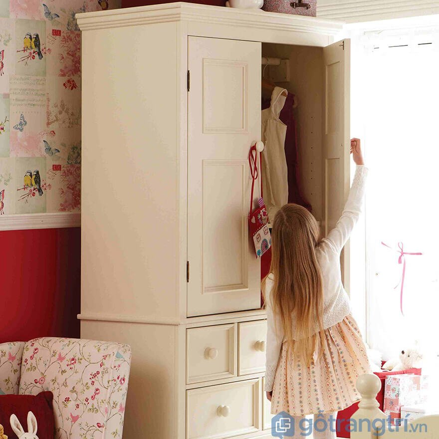 Tủ quần áo trẻ em bằng gỗ tphcm
