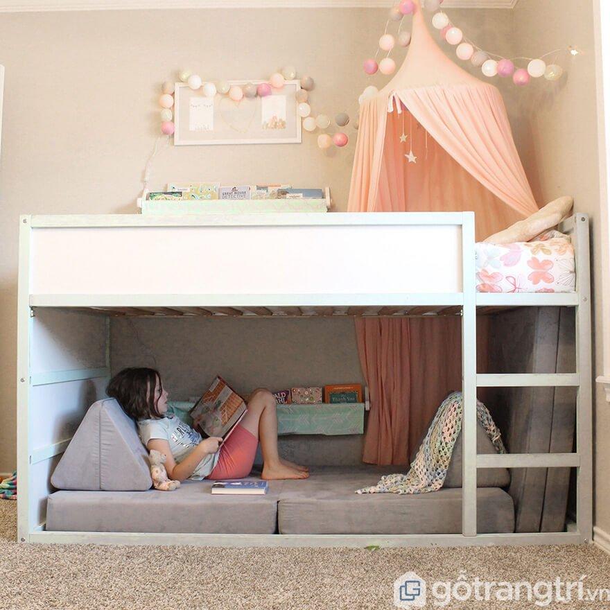 Cách trang trí giường tầng