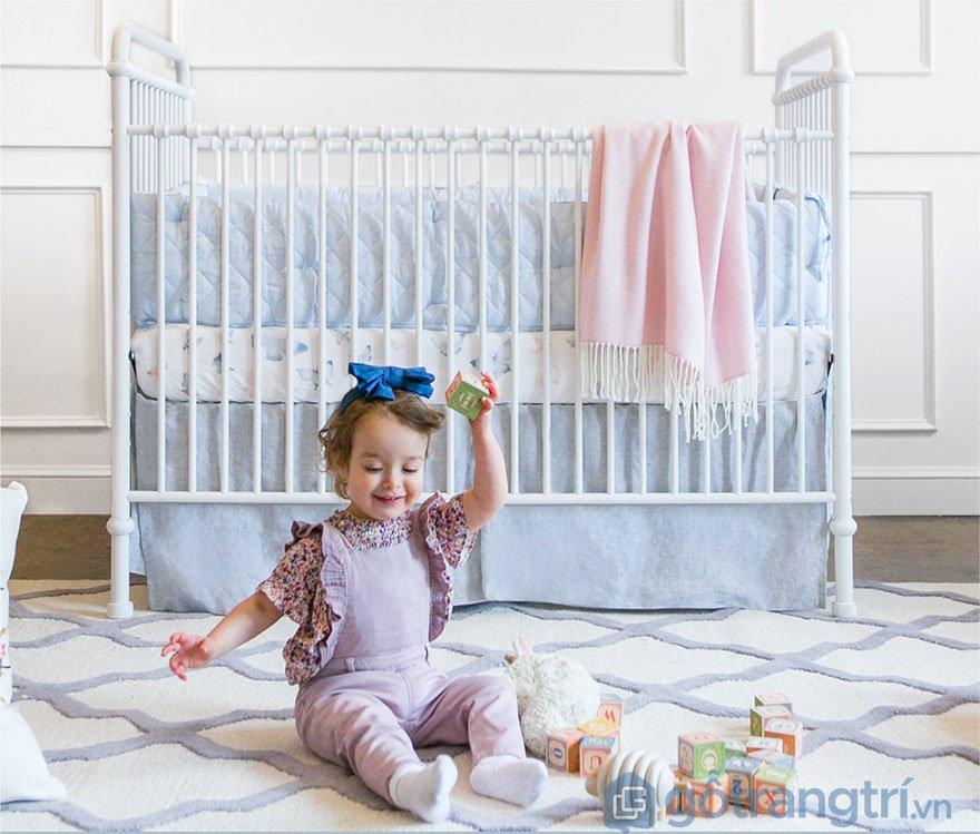 Cũi cho bé 9 tháng tuổi