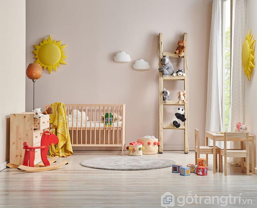 Cũi trẻ em 2 tầng cho bé