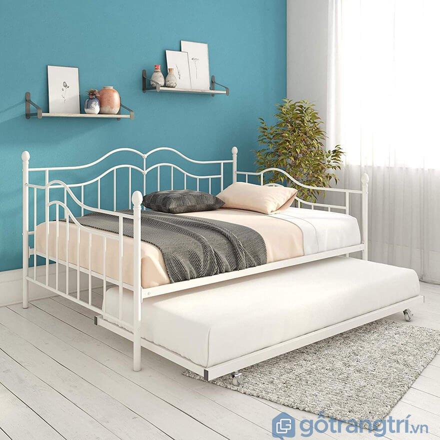 Giường kéo 2 tầng người lớn đẹp