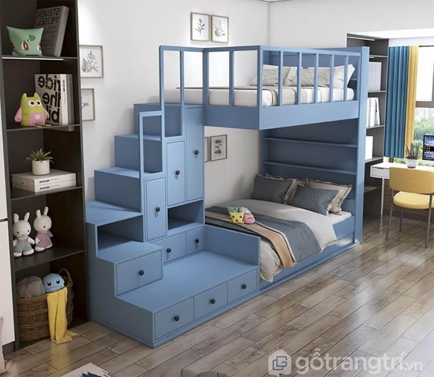 Giường tầng cho bé 8 tuổi