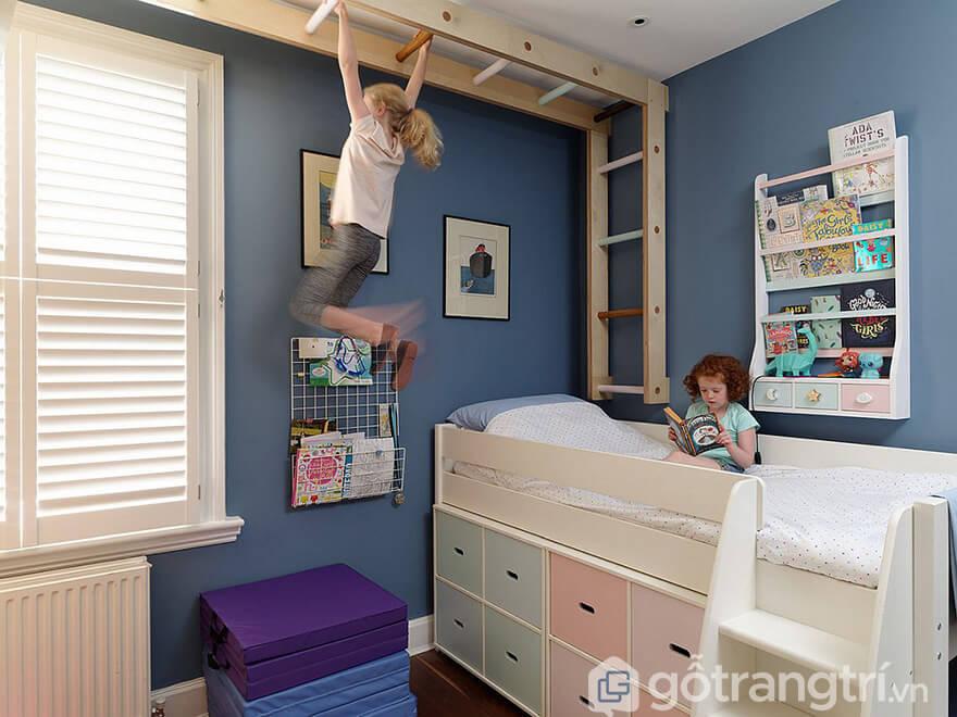 Giường tầng thông minh cho phòng nhỏ
