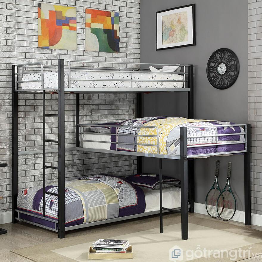 Giường tầng vuông góc