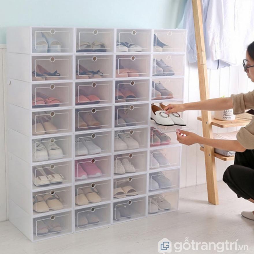Kệ để giày dép bằng nhựa