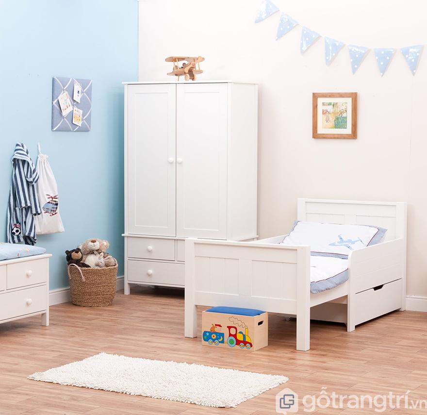 Kích thước tủ quần áo trẻ em tiêu chuẩn