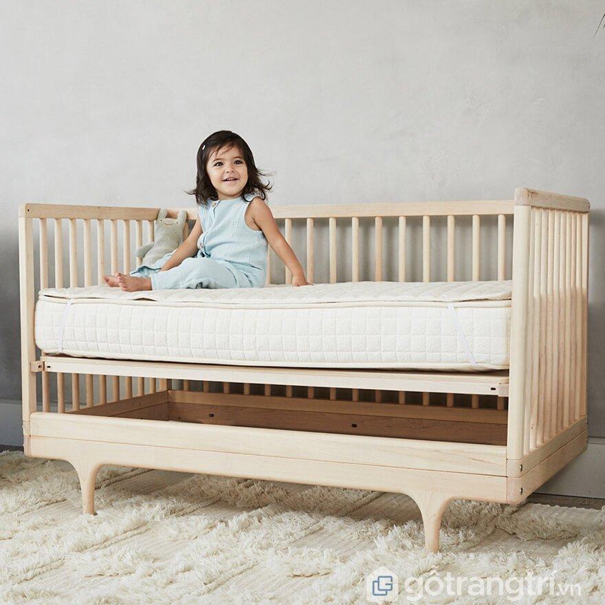 Quây cũi bằng gỗ