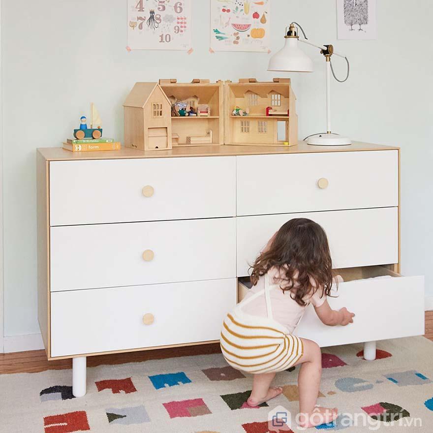 Tủ để đồ cho bé nhỏ gọn