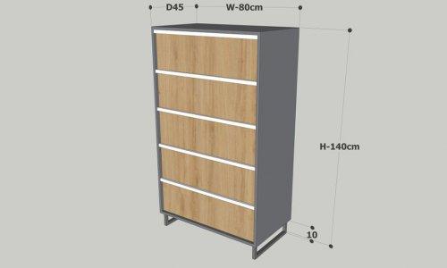 tủ gỗ nhỏ đựng đồ