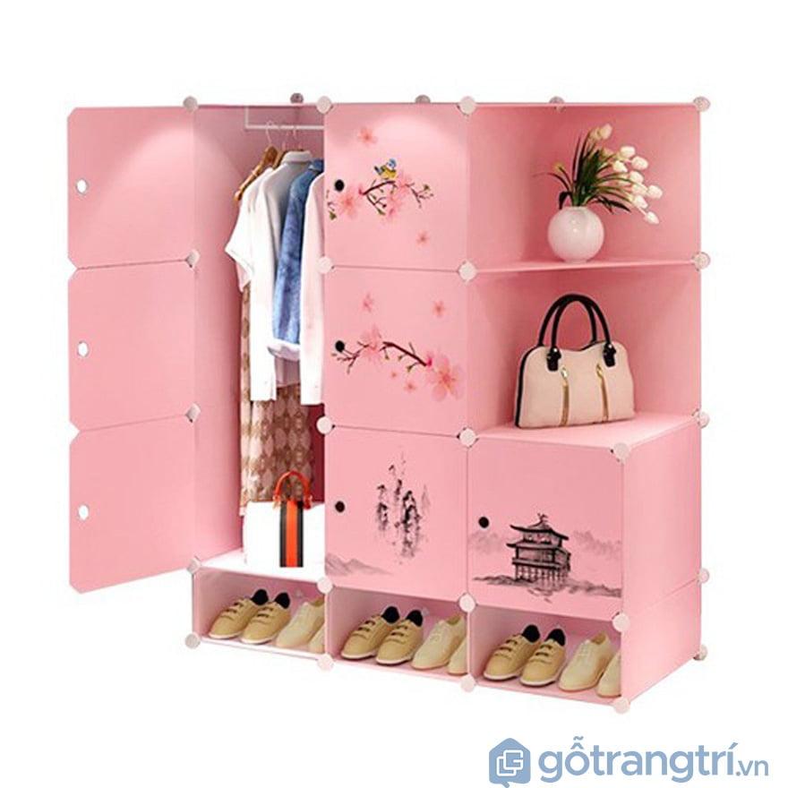 Tủ quần áo cho bé gái
