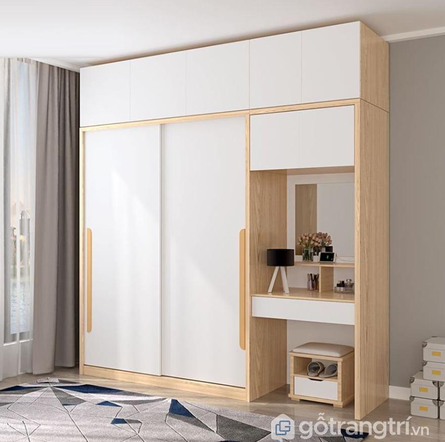 tủ quần áo gỗ công nghiệp cao cấp