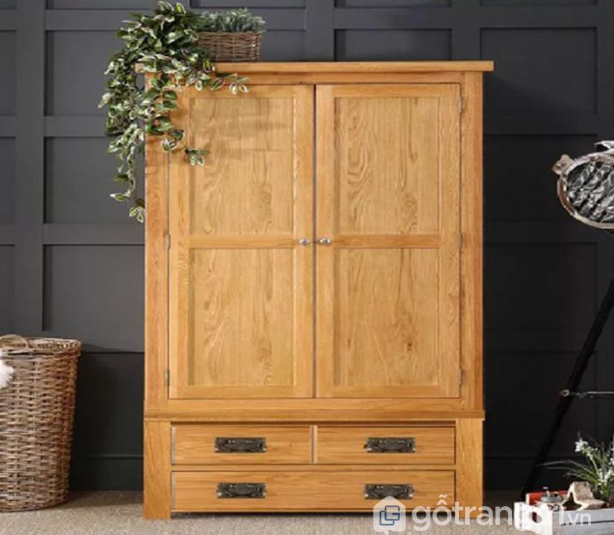 Tủ quần áo gỗ tự nhiên tại Hà nội