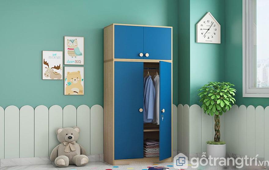 Tủ quần áo mini đẹp