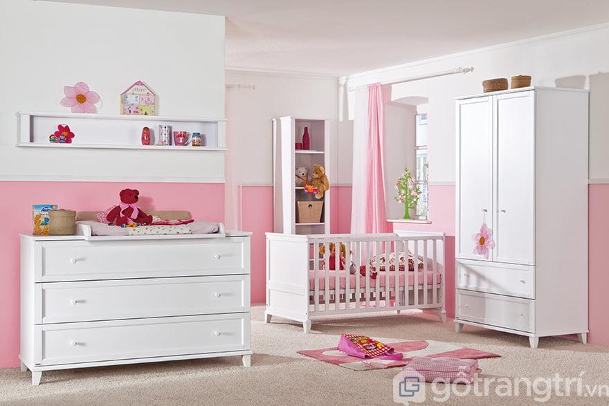 Tủ quần áo trẻ sơ sinh