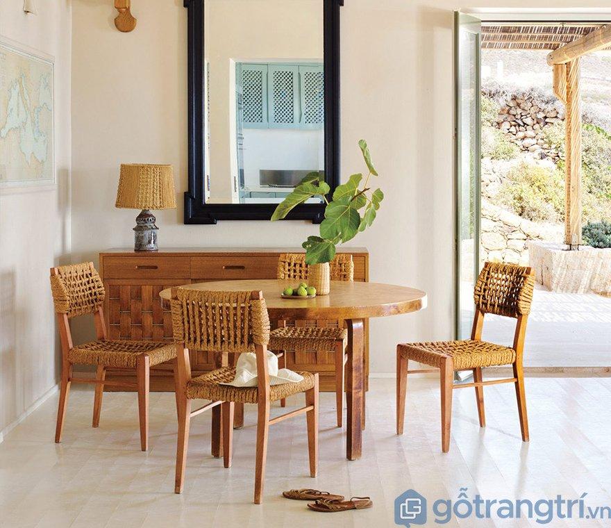 Bộ bàn ghế gỗ cao cấp