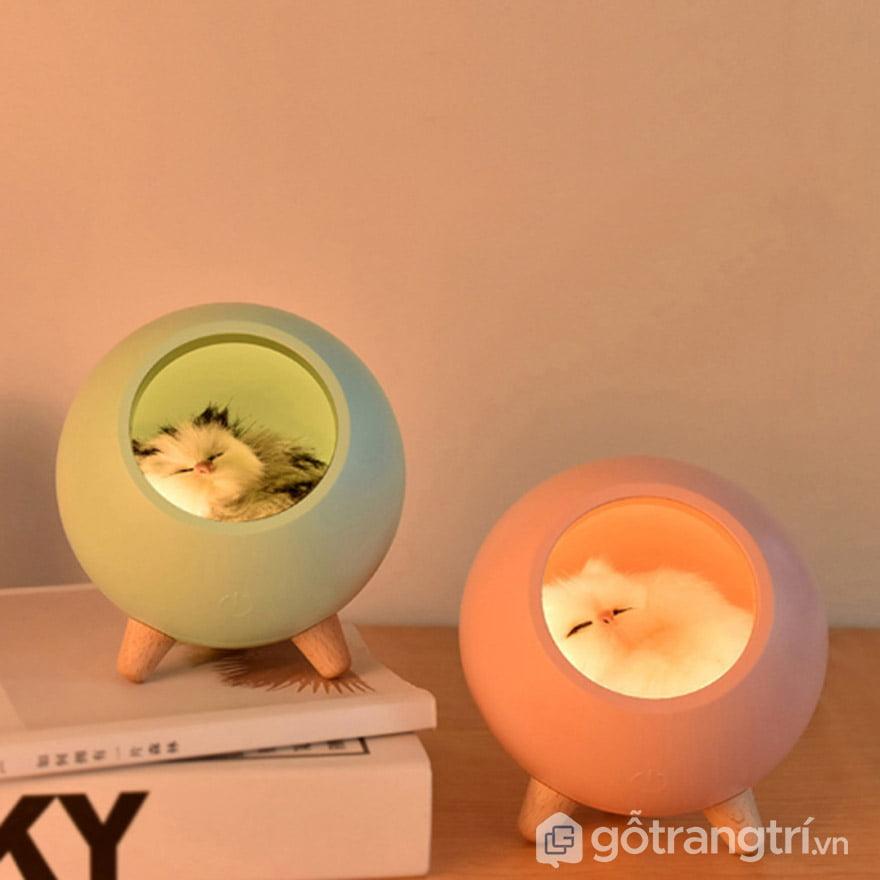 Đèn ngủ để bàn dễ thương được các bạn nhỏ rất yêu thích