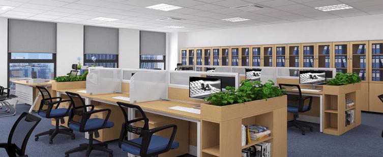 Kích thước bàn làm việc văn phòng