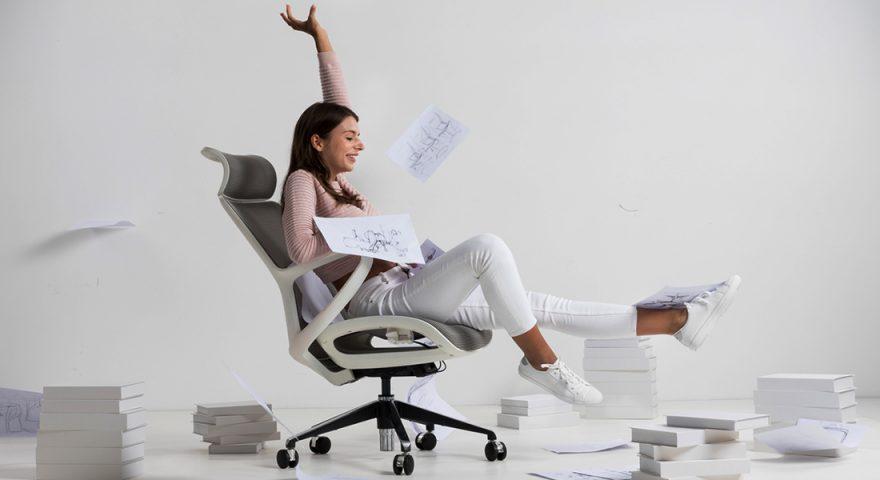 Kích thước ghế văn phòng