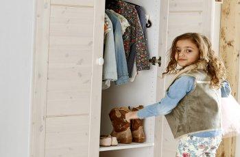 Tủ quần áo đẹp cho bé gái