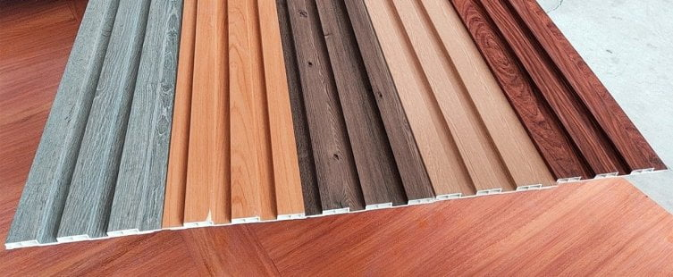 vật liệu gỗ nhựa ốp tường