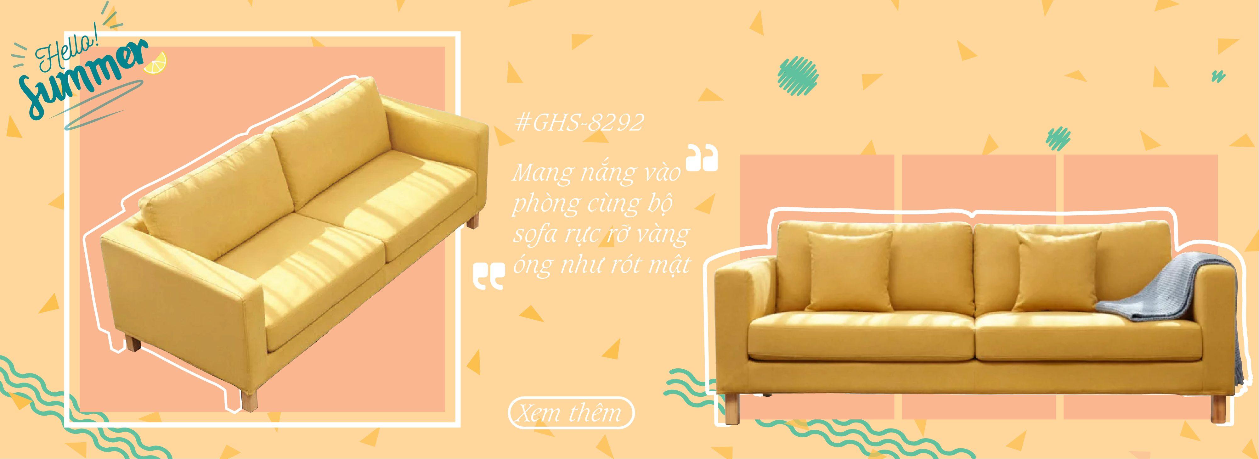 sofa bọc nỉ đẹp