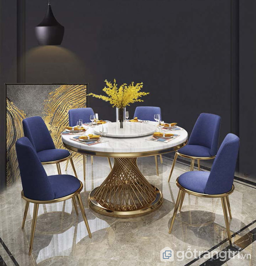 Bộ bàn ăn đẹp cho chung cư