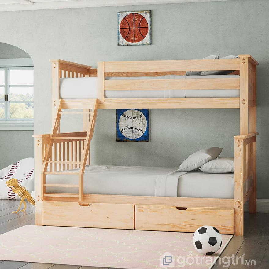 Giường tầng bé trai