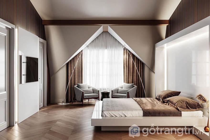 Nội thất trang trí phòng ngủ
