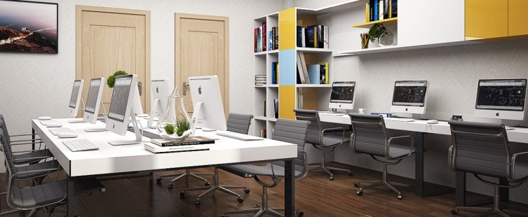 Nội thất văn phòng nhỏ