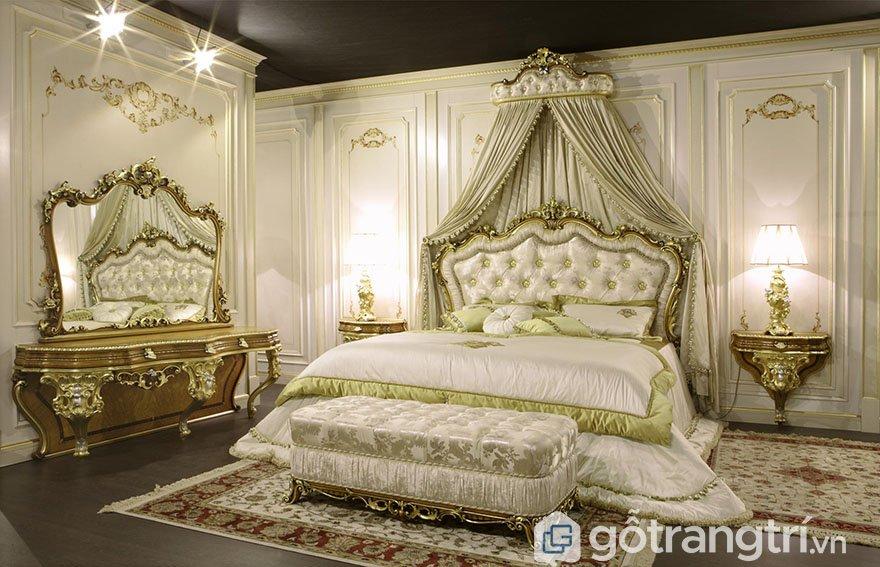 Trang trí phòng ngủ theo phong cách cổ điển