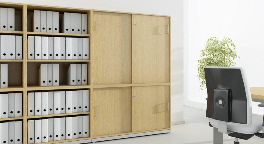 Tủ tài liệu gỗ