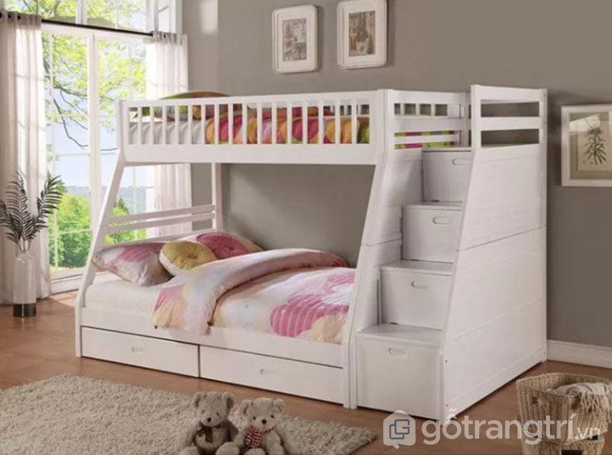 giường tầng cho bé trai và gái