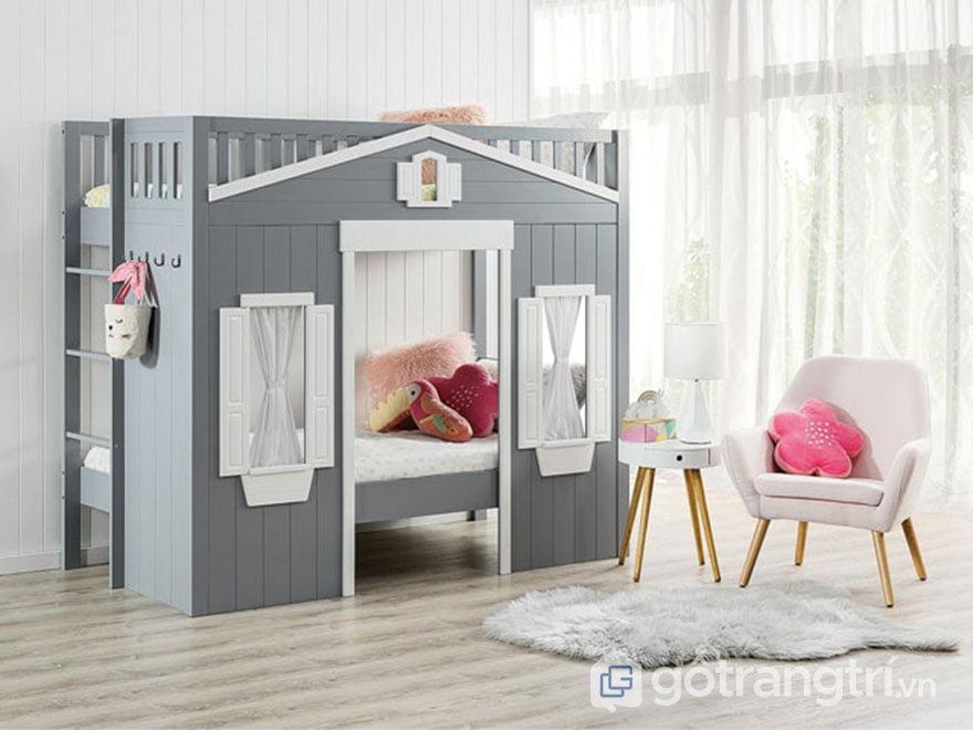 giường tầng cho bé trái và gái