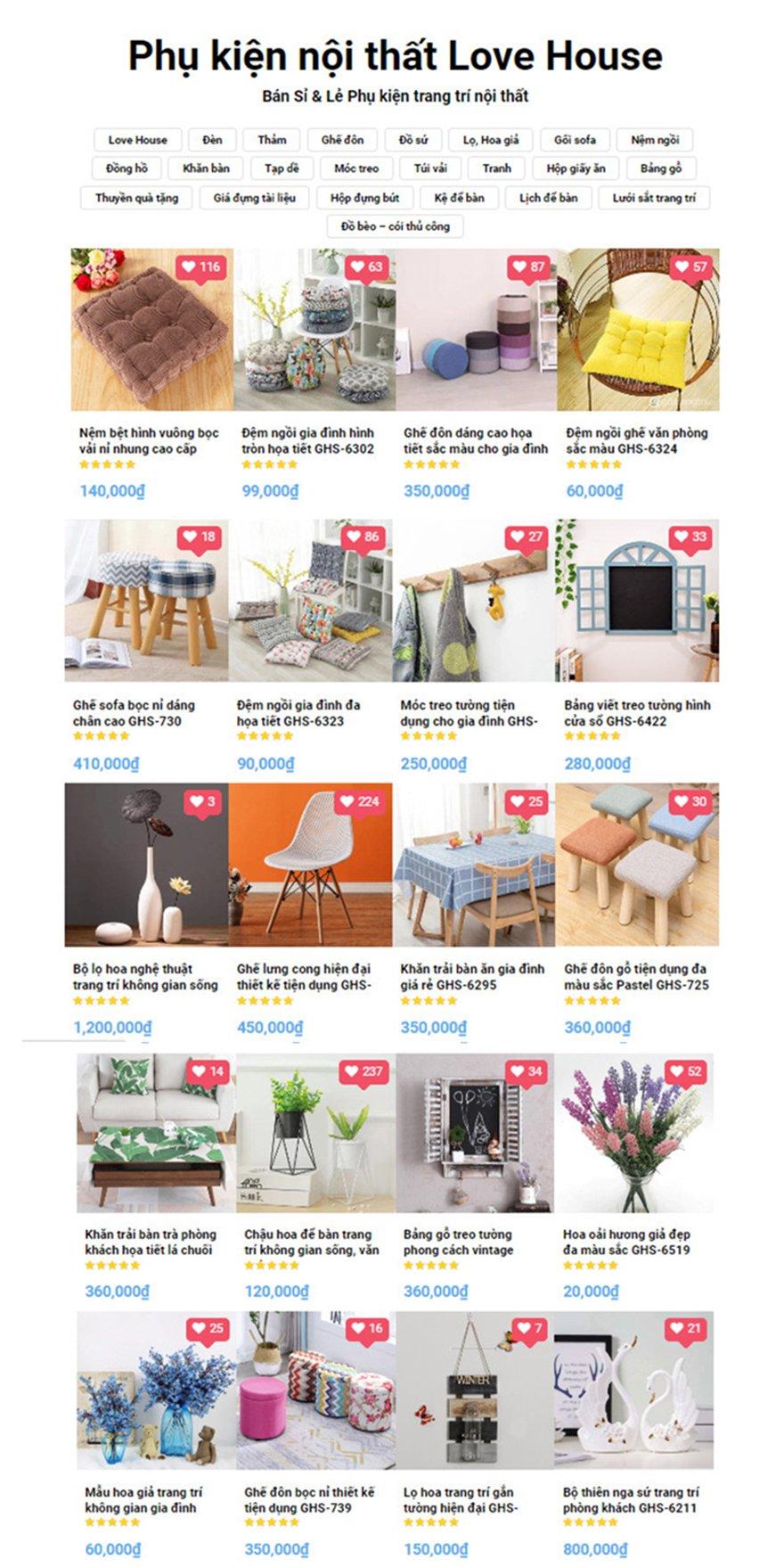 Đồ decor giá rẻ cho không gian thêm ấn tượng